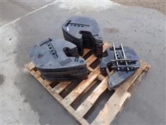 2013 Challenger MT585D Front Weights
