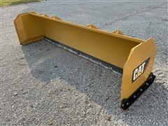 Caterpillar 12' Skid Steer Snow Plow