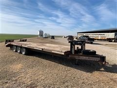 1998 Donahue 812-28S Tri/A Flatbed Trailer