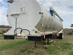 2009 Warren AT-36-SER9PUP T/A Bulk Feed Trailer