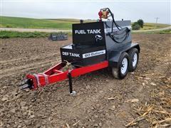 2021 Industrias America TP500 T/A Bulk Fuel Trailer W/DEF Tank