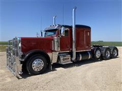 2014 Peterbilt 389 Tri/A Truck Tractor