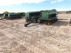 John Deere 455 30' Front-Folding Drill W/Grass Seed Bins