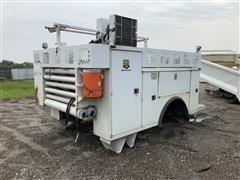 Monroe Service Truck Body W/ Vanair Air Compressor