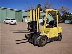 Hyster 50 5000lb 3 Stage LP Forklift