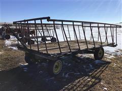 Shop Built Hay Wagon