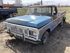 1976 Ford F100 2WD Pickup