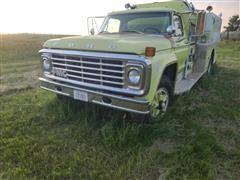 1979 Ford F700 Medium HVY Fire Truck