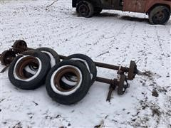 Trailer House Axles & Tires