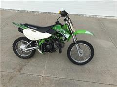 2002 Kawasaki KLX110 Dirt Bike