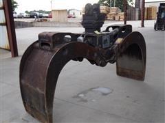 Rotobec 115P-A-CY1-HP2-B Rotating Grapple