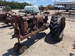 1938 International F14 2WD Tractor