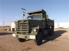 1979 General Corp Dump 8x6 Tri/A Military Dump Truck