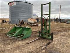 Gnuse 3-PT Forklift & Bucket