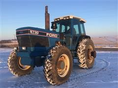 1990 Ford 8730 Powershift MFWD Tractor