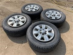 Firestone P275/65R18 Tires & Rims