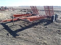 Donahue T/A Swather Trailer