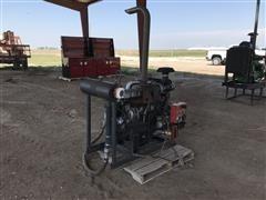Isuzu 6BG1TPX Irrigation Engine Power Unit