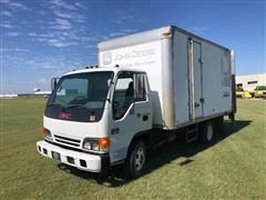 2001 GMC W3500 S/A Box Truck