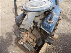 Ford 400-2V V8 Gas Engine & Pickup Roll Bar