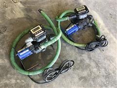 Flowserve PH6 Plastic Herbicide Pumps W/Flowmeters