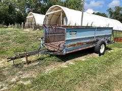 Brehmer Hydraulic Livestock Cart