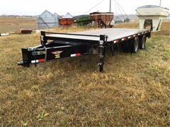 2017 H&H T/A Flatbed Trailer