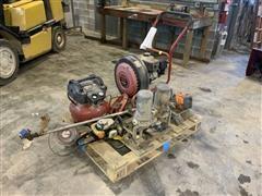 Landscaping Equipment & Porter Gable Air Compressor