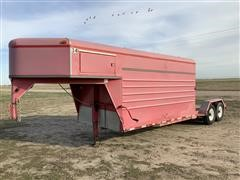 2001 K&O T/A Combo Flatbed/Enclosed Trailer