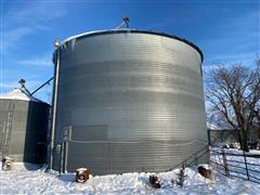 York 20,000 Bushel Grain Bin