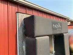 Nova Padded Stainless Steel Load-Out Door