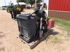 Isuzu 6-98003-929 Industrial Frame-Mounted Diesel Engine