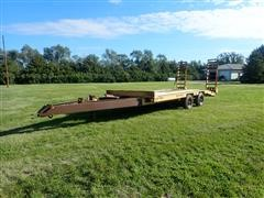 1977 General 8'x18' T/A Flatbed Trailer