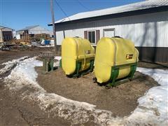 Top Air Saddle Tanks