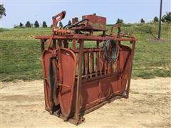 Bowman Hydraulic Squeeze/Head Cattle Chute