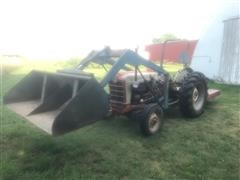 1958 Ford 801 2WD Tractor W/Loader & Mower