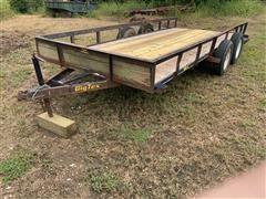 Big Tex 50LA 16' T/A Flatbed Utility Trailer W/Ramps
