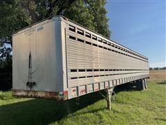 1974 American T/A Livestock Trailer