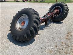 Massey Ferguson Combine Rear Wheel Assist Axle With Tires/wheels