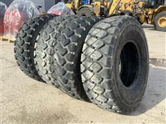 Bridgestone & Michelin 17.5R25 Tires