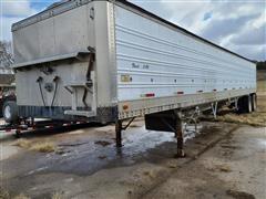 1985 American A754 Aluminum T/A Grain Trailer