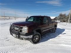2003 Chevrolet Silverado K2500HD Heavy Duty 4x4 4-door Extended Cab Pickup