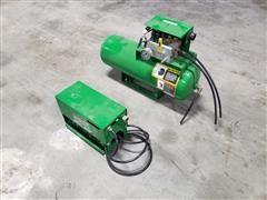 John Deere 12 Volt Compressor W/Air Tank