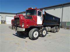 1989 Mack DMM600 T/A-T/A Dump Truck