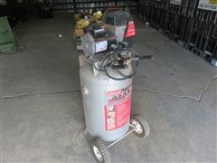 Coleman 33 Gallon Air Compressor & NAPA 60 Gallon Compressor