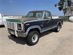 1984 Ford F250 XLT 4x4 Pickup