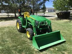 2019 John Deere 3038E Compact Utility Tractor