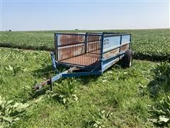 Brehmer Hydraulic Small Livestock Cart