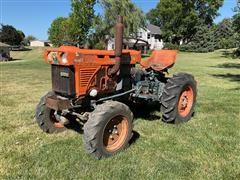 1980 Kubota B7100 MFWD Compact Tractor