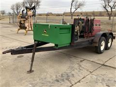 Lincoln Electric Ranger 10 Generator Welder On T/A Service Trailer